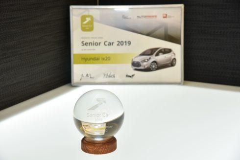 """Autoperiskop.cz  – Výjimečný pohled na auta - Legendární Hyundai ix20 je vítězem ankety """"Senior Car 2019"""""""
