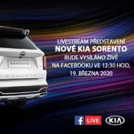 Autoperiskop.cz  – Výjimečný pohled na auta - KIA představí nový model Sorento prostřednictvím LIVESTREAM přenosu na Facebooku