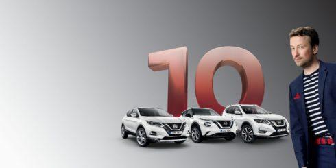 Autoperiskop.cz  – Výjimečný pohled na auta - Nová éra v nakupování aut Nissan poskytne balíček 10leté záruky na všechny nové crossovery