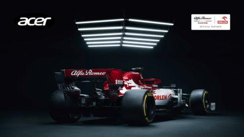 Autoperiskop.cz  – Výjimečný pohled na auta - Alfa Romeo Racing ORLEN a Acer pokračují v inovacích