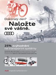 Autoperiskop.cz  – Výjimečný pohled na auta - Audi nyní nabízí originální přepravní systémy s 25% zvýhodněním