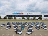 Autoperiskop.cz  – Výjimečný pohled na auta - Zátěžový test v každodenním provozu: Zaměstnanci v Sasku zahájili provoz flotily 150 vozů ID.3