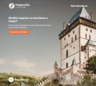 Autoperiskop.cz  – Výjimečný pohled na auta - HoppyGo představuje vlastní cestovatelský bedekr. Uživatelům pomůže s výběrem dovolených a výletů po celé ČR