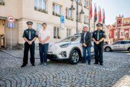 Autoperiskop.cz  – Výjimečný pohled na auta - KIA e-Niro se hlásí do služby u Městské policie Tábor
