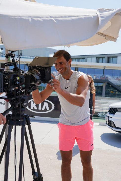 Autoperiskop.cz  – Výjimečný pohled na auta - Kia a Rafael Nadal prodloužili partnerství během přímého přenosu na tenisovém kurtu