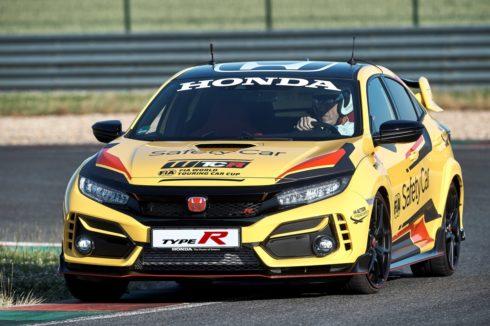 Autoperiskop.cz  – Výjimečný pohled na auta - Model Honda Civic Type R Limited Edition je oficiálním bezpečnostním vozem (safety car) na Světovém poháru cestovních vozů (WTCR) pro rok 2020