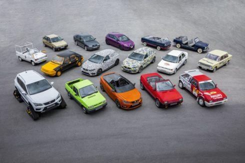 Autoperiskop.cz  – Výjimečný pohled na auta - SEAT: 70 let a 16 výjimečných automobilů