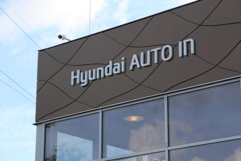 AUTO IN v Pardubicích 46. dealerstvím značky Hyundai