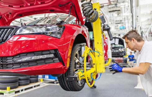 ŠKODA AUTO získá dodatečné výrobní kapacity v rámci koncernu VOLKSWAGEN
