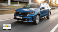 Autoperiskop.cz  – Výjimečný pohled na auta - Nová Kia Sorento si odváží pět hvězd v hodnocení Euro NCAP