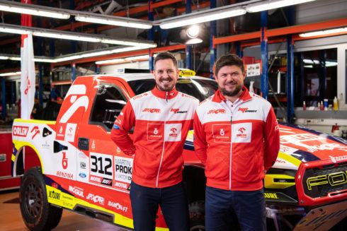 Martin Prokop bude na Rallye Dakar 2021 závodit barvách BENZINA ORLEN Teamu