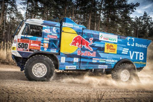KAMAZ-master a Goodyear chtějí bojovat o vítězství  v Rallye DAKAR