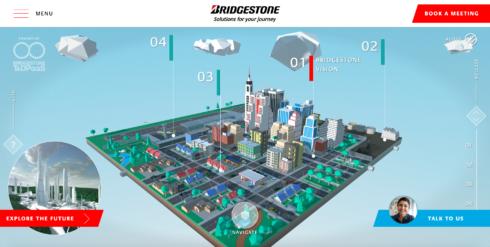 Bridgestone představuje na veletrhu CES 2021 virtuální město budoucnosti včetně vyspělých řešení pro mobilitu