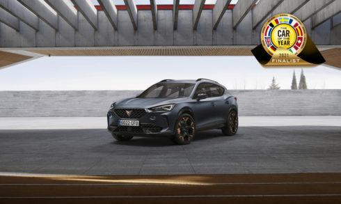 CUPRA Formentor je mezi sedmi finalisty prestižní ankety Car of the Year 2021