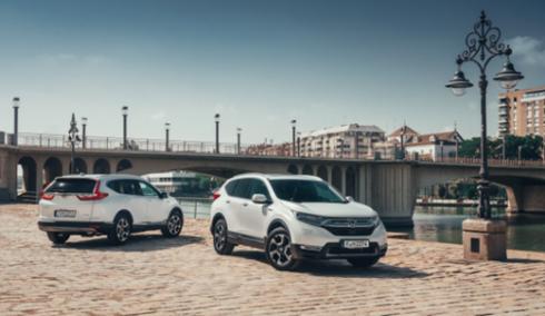 Honda představuje akční nabídku na své vozy: CR-V Hybrid se zvýhodněním až 110 000 Kč