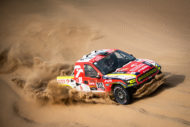 Autoperiskop.cz  – Výjimečný pohled na auta - Martin Prokop spotřeboval během Dakaru 4 600 litrů paliva a 150 litrů motorového oleje MOGUL. I v tomto roce bude jezdit v barvách týmu BENZINA ORLEN