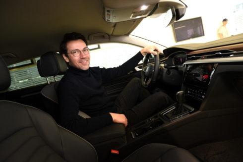 Lukáš Hejlík mapuje gastronomickou scénu v České republice za volantem vozů Volkswagen