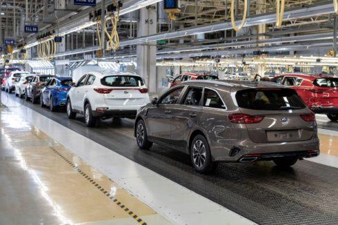 Výrobní výsledky Kia Motors Slovakia v roce 2020