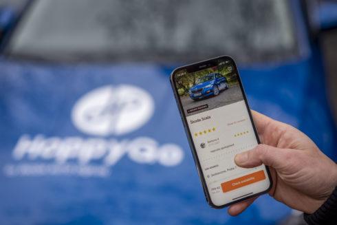 HoppyGo, P2P carsharingová služba od ŠKODA AUTO DigiLab, byla úspěšná i v roce 2020