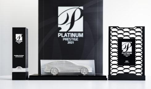 Ocenění Platinum Prestige 2021 značky Kia získala společnost UNIKOM, a.s.