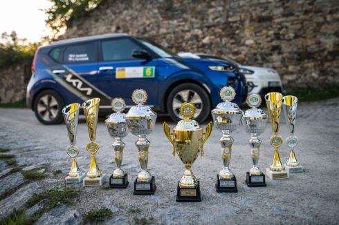 Kia dominovala v 9. Czech New Energies Rallye
