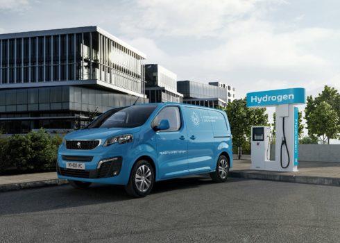 Nový Peugeot e-Expert Hydrogen: Vodíková technologie u sériových vozů Peugeot
