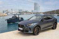 Autoperiskop.cz  – Výjimečný pohled na auta - CUPRA přenáší svou vysokovýkonnou DNA na moře jachtou De Antonio Yachts D28 Formentor