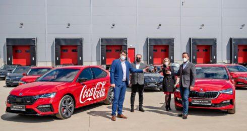 Volkswagen Financial Services financuje 430 vozů pro Coca-Cola HBC Česko a Slovensko