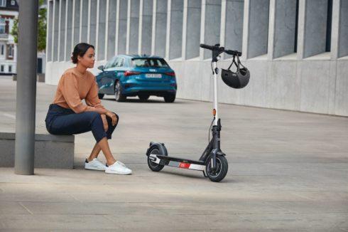 Audi eScooter: nová elektrická koloběžka pro osobní mikromobilitu