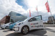 Autoperiskop.cz  – Výjimečný pohled na auta - Jihočeská univerzita zařadila do své flotily tři elektromobily Volkswagen e-up!