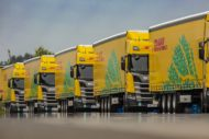 Autoperiskop.cz  – Výjimečný pohled na auta - DHL rozšiřuje flotilu ekologických kamionů na zkapalněný zemní plyn