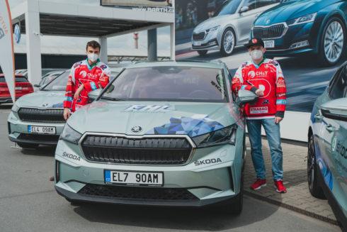 ŠKODA AUTO předala ceny vítězům ENYAQ Hockey League