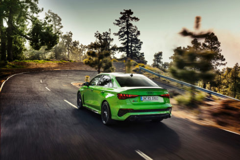 Vrcholný sportovní vůz pro každodenní provoz: Nové Audi RS 3