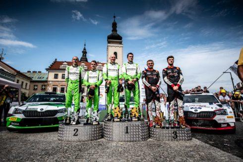 Jan Černý byl nejúspěšnější soukromý jezdec na letošní Rally Bohemia