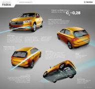 Autoperiskop.cz  – Výjimečný pohled na auta - ŠKODA FABIA: nejlepší aerodynamika ve své třídě