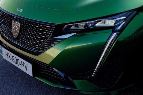 Nové modely Peugeot 308  a 308 SW zavádějí nové technologie svícení