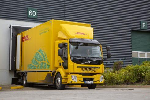 Flotila DHL Supply Chainse rozrostla o nový elektrický truck Volvo