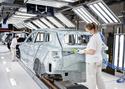 ŠKODA AUTO vyrobila již 100 000 vozů iV