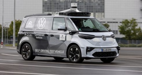 Volkswagen Užitkové vozy, Argo AI a MOIA prezentují první prototypy ID.BUZZ pro autonomní jízdu