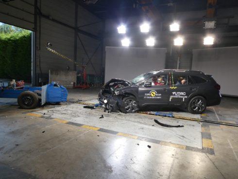 Nové Subaru Outback má nejlepší výsledek z letošních bezpečnostních testů EuroNCAP*