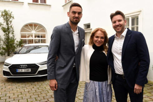 Audi a Satoranský věnují 168 000 Kč na charitu