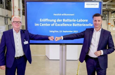 Nové akumulátorové laboratoře: Volkswagen činí další krok k vývoji a výrobě vlastních akumulátorových článků