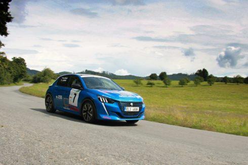 Vítězství modelu e-208 na soutěži TotalEnergies Green Rally Zlín 2021