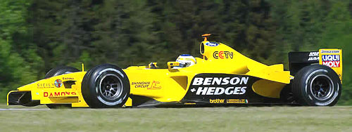 Závodní vůz Jordan Ford EJ13