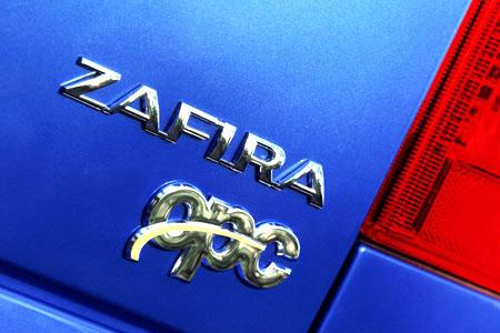 Exkluzivní velkoprostorový vysoce výkonný nový Opel Zafira OPC