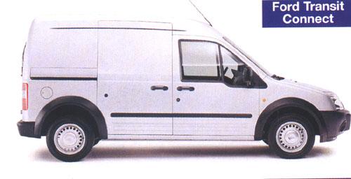 Ford Transit Connect SWB na český trh