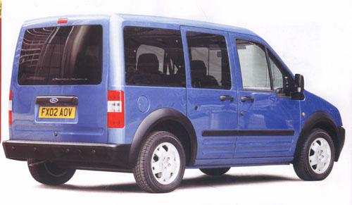 Nový Ford Transit Connect dvakrát úspěšný