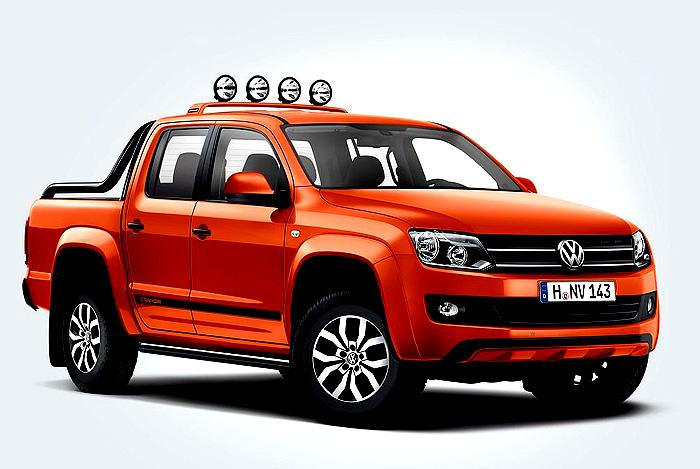 Volkswagen uvádí na český trh exkluzivní užitkový model Amarok Canyon s lifestylovou úpravou exteriéru a interiéru