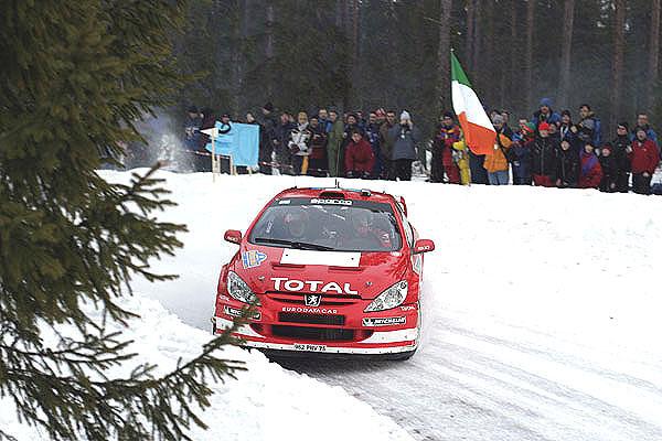 Včera – vneděli skončila Švédská rallye svou třetí etapou