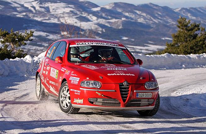 AGROTEC racing team včera - 17. ledna v18 hodin odstartoval na slavné Rallye Monte Carlo 2012 (17. – 22. ledna 2012)